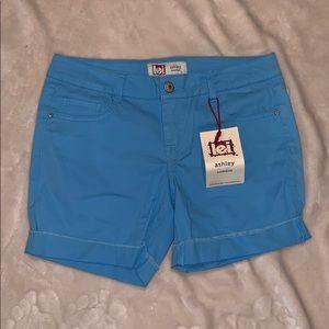 L.e.i Blue Jean Shorts